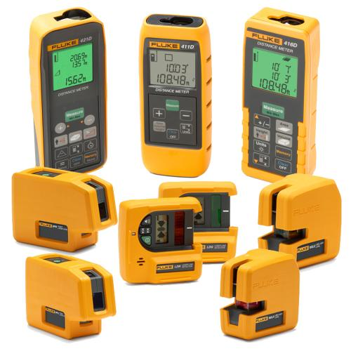 Laser Levels and Laser Distance Meters