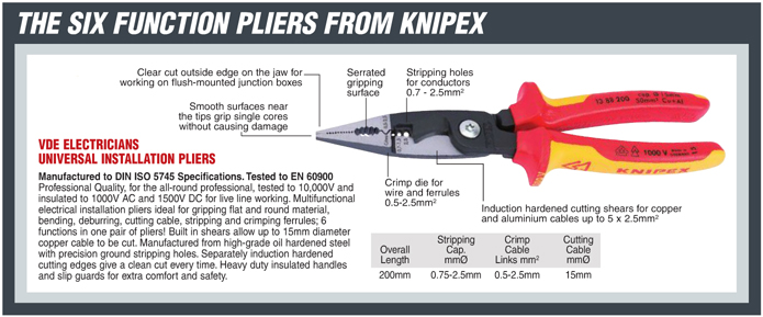 Knipex 31460 Combination Pliers 31460