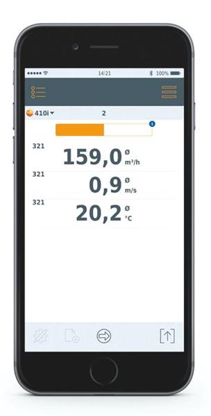 Testo Smart 405i Anemometer