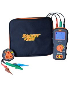 Socket and See DLMPRO Combined DMM, loop and socket tester