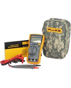 Fluke 117 TRMS Multimeter and C25 CAMO Carry Case