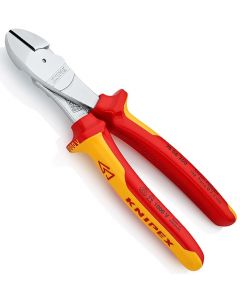 Knipex Fully Insulated VDE High Leverage Diagonal Side Cutter 200mm