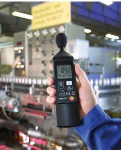 Testo 815 Sound Meter Showing Windshield