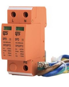 SPD2PT2 Fusebox Type 2 Surge Protection Device T2 for TN systems