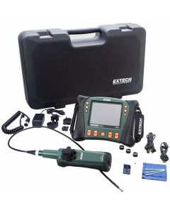 Extech HDV640 HD VideoScope Kit with HDV600 Monitor and Handset Articulating Probe