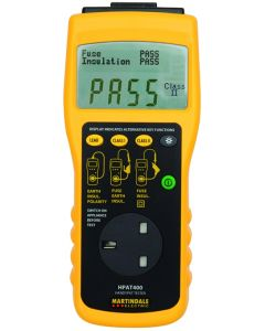 Martindale HPAT400 Pass-Fail PAT Tester