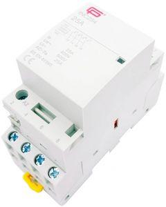 Installation Contactor 25A 4 Pole NO 230V INC254