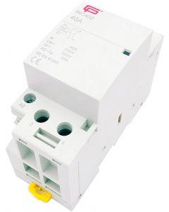 Installation Contactor 40A 2 Pole NO 230V INC402