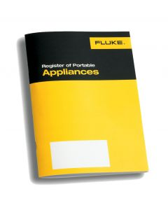 Fluke IRP1 Log Book Generic PAT Accessories