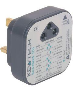 Kewtech KEWCHECK103 Socket Testers