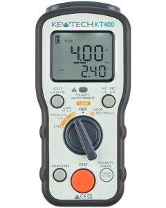 KT400 Loop Impedance & PSC PFC Tester