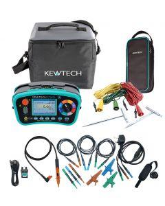 Kewtech KT66ET Multifunction Tester and Earth Testing Kit