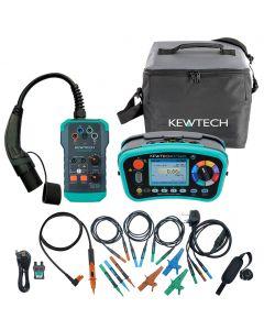 Kewtech KT66EV Multifunction Tester and EVSE Kit