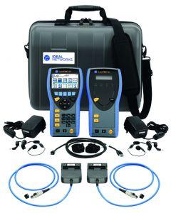 lantek 1000 cable certifier with adaptors