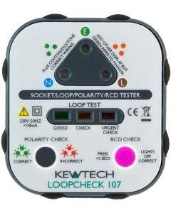Kewtech Loopcheck107 Socket Testers