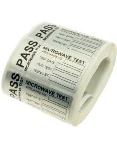 Martindale MICRO Microwave test Labels