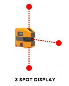 Fluke PLS 3R Red Laser Level Kit