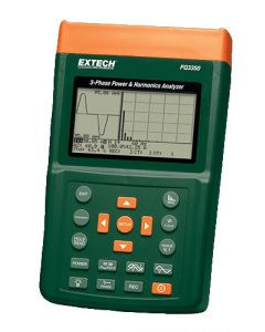 Extech PQ3350-3: 3-Phase Power & Harmonics Analyzer
