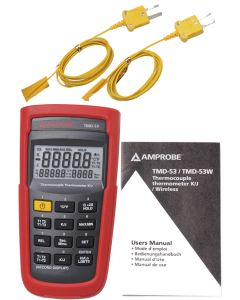 Amprobe TMD-53 Dual Input Digital Thermometer