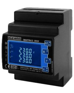 X835 DIN Rail Multifunction Power Meter  (Colour may vary)