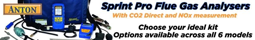 Anton Sprint Pro Flue Gas Analyser Series