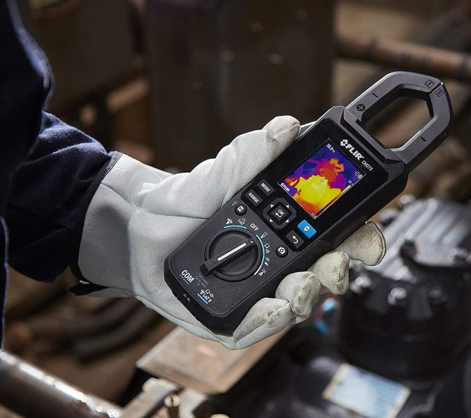 FLIR CM275 Thermal Imaging Clamp Meter