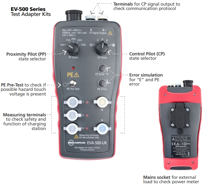 Amprobe EV-502 Pictorial