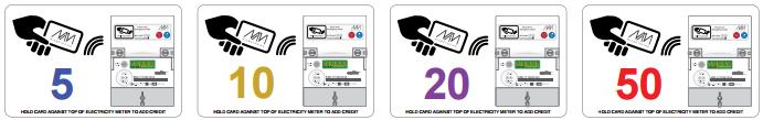 RFID Card options