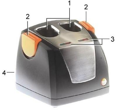 Testo Desktop Charger 0554-8801
