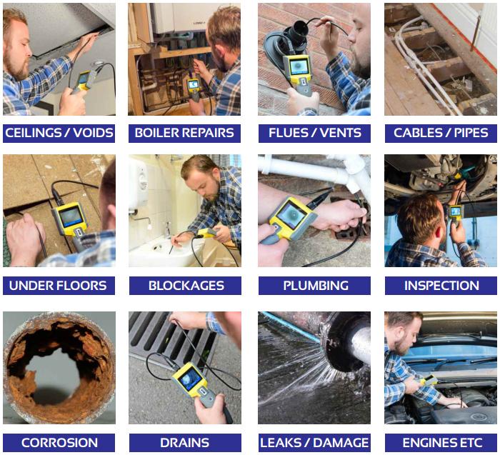 EAZYVIEW Tradesman Inspection Camera